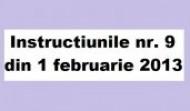 Instructiunile nr. 9 din 2013 privind analiza de risc la securitate fizica