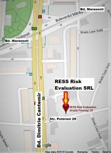Pentru analiza de risc la securitatea fizica contacti RESS Risk Evaluation SRL